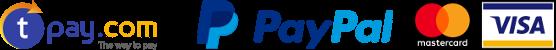 Akceptujemy płatności tPay.com i PayPal